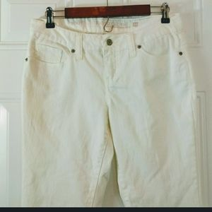 (3/$20) Faded Glory White bootcut jeans